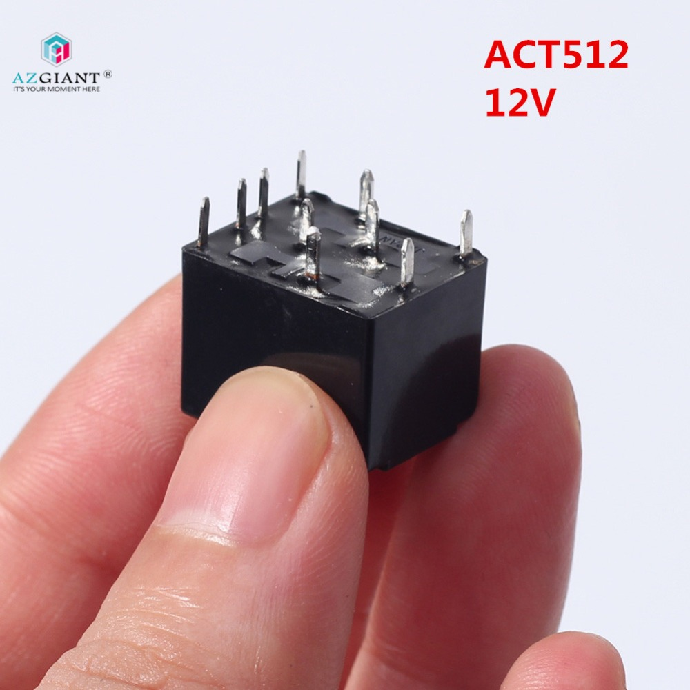 AZGIANT 1pc 20A 12V ACT512 Relay For Audi J518 Lock Ignition Switch ELV/ESL ACT 512 CMAS1H-S CB1-24V 10 Feet Push Switch