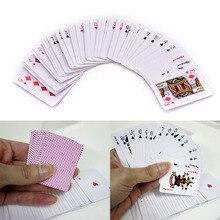 1 Набор/54 шт Gmarty Poker маленькие игральные карты Семейная Игра для путешествий настольная игра 5,5*4 см