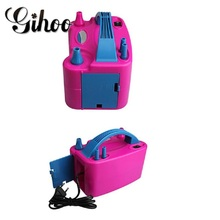 1 PC ใหม่สองหัวฉีด AC Inflatable ไฟฟ้าปั๊มบอลลูนบอลลูนปั๊มบอลลูน Inflator ปั๊มแบบพกพา blower