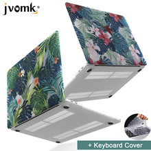 New Print Palm leaves Laptop Case For MacBook Air Pro Retina 11 12 13 15 inch with Touch Bar + Keyboard Cover(China)