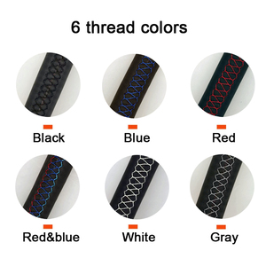 Image 5 - Black Genuine leather Car Steering Wheel Cover for Honda Accord 9 2013 2014 2015 2016 2017 Crosstour 2013 2014 2015