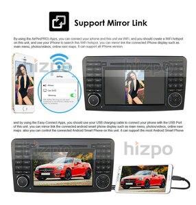 Image 4 - أندرويد 10 مشغل أسطوانات للسيارة راديو لتحديد المواقع لمرسيدس بنز GL ML الفئة W164 X164 ML300 350 450 GL320 USB الصلب عجلة التحكم DVR كاميرا مجانية
