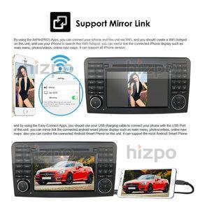 Image 4 - Android 10 Car DVD radio GPS For Mercedes Benz GL ML CLASS W164 X164 ML300 350 450 GL320 USB Steel wheel control DVR Free Camera
