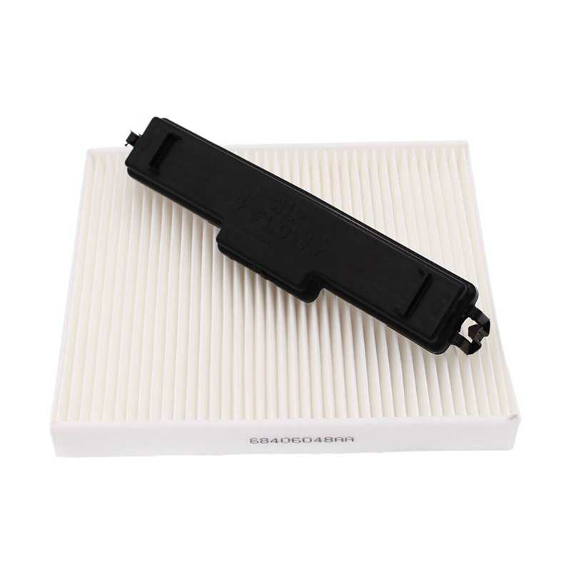 X AUTOHAUX Cabin Air Filter Access Door Cover for Ram 1500 2500 3500 for Dodge Journey 68052292AA