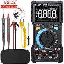 BSIDE ZT-M1 Auto/Manual Digital Multimeter EBTN Triple Display 8000 Counts Battery Test Voltage VFC Square Wave Output Tester недорого