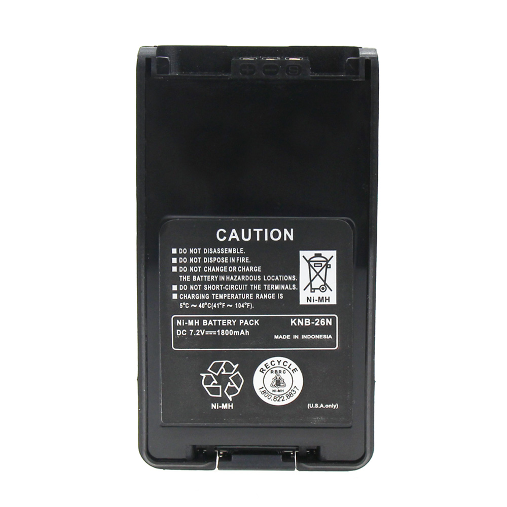KNB-26N 2000mAh Ni-MH Battery For Kenwood TK2140 TK3140 TK2160 TK3160 Walkie