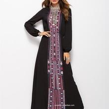 Dress Clothing India Long Pakistan Women's Maxi Muslim-Robe Ethnic-Style Bohemian Vintage