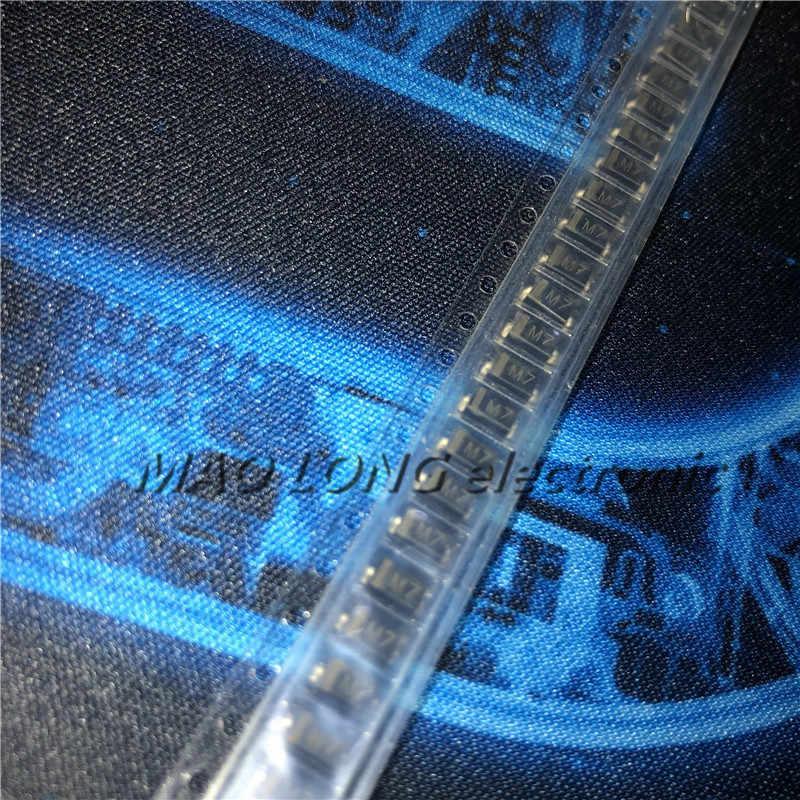 100 יח'\חבילה דיודה M7 1N4007 SMD 1A 1000V IN4007 מיישר דיודה במלאי חדש מקורי