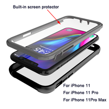 Armor 360 Full Protect Case For iphone 11 case Outdoor Doom Heavy Duty pro max Cover Shockproof Coque Fundas