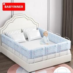 Babyinner 60 см детская кровать Бампер анти-столкновения кровати кроватки рельсы регулируемая высота новорожденных ограждение безопасности акс...