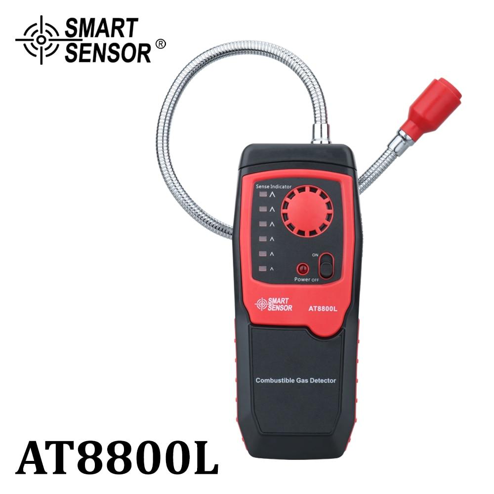 Датчик высокой чувствительности, анализатор природного газа, детектор утечки газа, измеритель горючих газов, звуковая светильник вая сигна...