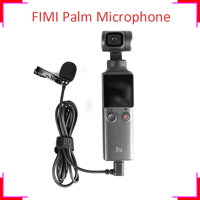 FIMI Palm Microphone Official Fimi Palm Mic Phone Without Audio Adapter Handheld Gimbal Accessory Hi-fi Sound Noise Reduction
