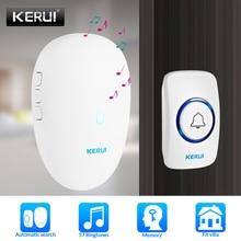 KERUI Smart Doorbell Home Security Welcome Wireless 57 chime Doorbell