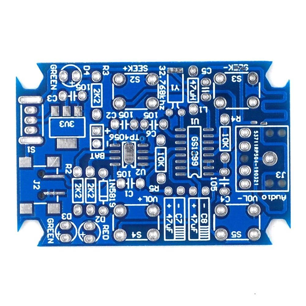 Kit Radio stéréo Fm bricolage pièces Radio Kit de Production Radio numérique Gs1299 Kit Radio Compact professionnel