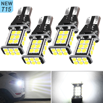 4x T15 W16W LED Bulb 921 Canbus Car Backup Reverse Light For BMW X5 F20 X3 E87 E70 E92 X1 M3 X6 E38 1 Series E83 E91 Z3 E65 image