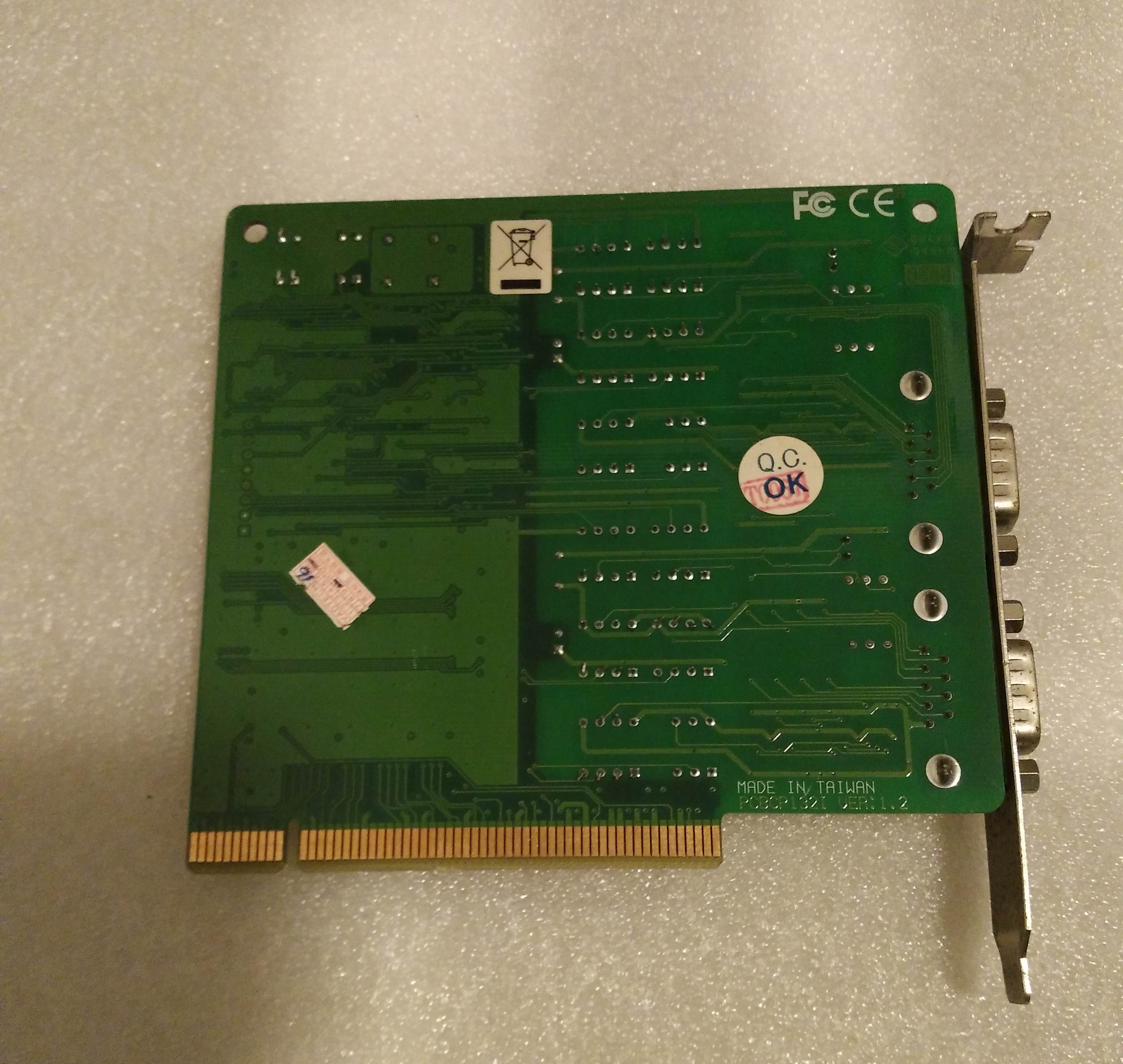 100% Tested Work Perfect For CP-132I  RS-422/485 PCI