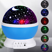 Table-Lamp Sky-Light Sky Projector Romantic Starry Bedroom Usb Child