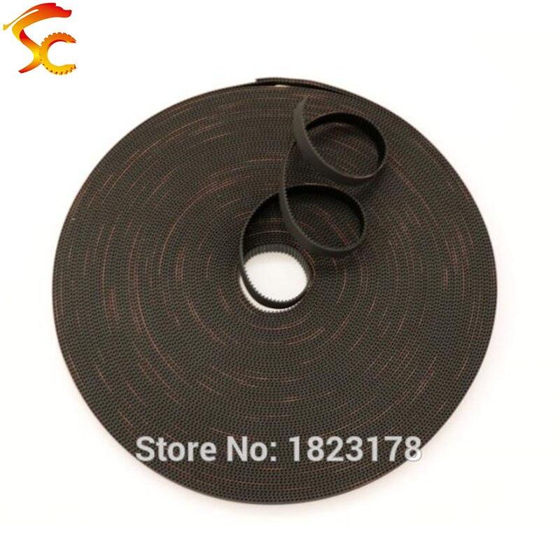 laser cutter 9mm T5 open Timing Belt sold per meter for CNC 3d printer