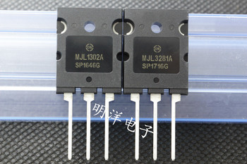 10pair/30pair MJL1302A MJL3281A Original ON Amway High Power Audio Pair Tube 1302/3281 free shipping image