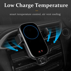 Image 5 - Wireless Car Charger Phone Holder for iPhone Samsung Car Wireless Charging Charger for iPhone 11 Pro X XR XS 8 Samsung S8 S9 S10