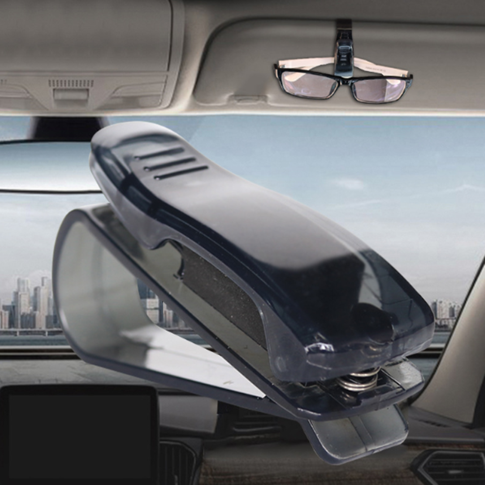Car Auto Sun Visor Glasses Sunglasses Clip For Peugeot RCZ 206 <font><b>207</b></font> 208 301 307 308 406 407 408 508 2008 3008 4008 5008 image