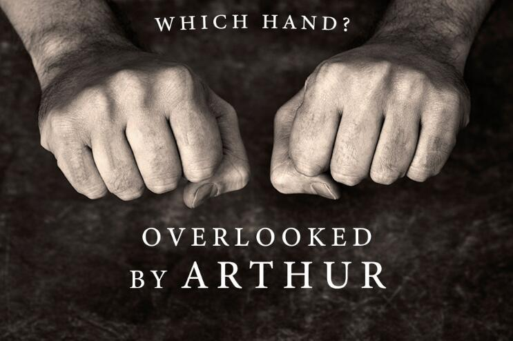 Which Hand Overlooked By Arthur  MAGIC TRICKS~