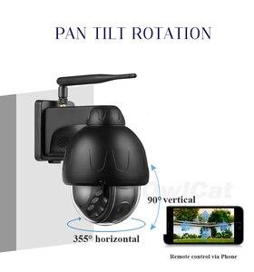 5MP IP камера автоматического слежения Wifi наружная купольная беспроводная камера безопасности панорамирование наклон поворот сети CCTV видеон...