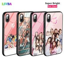 Black Silicone Case Twice Mina Momo Kpop for iPhone X XR XS Max for iPhone 8 7 6 6S Plus 5S 5 SE Super Bright Glossy Phone Case black cover japanese samurai for iphone x xr xs max for iphone 8 7 6 6s plus 5s 5 se super bright glossy phone case