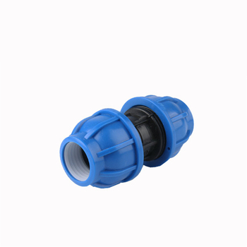 цена на PE Quick Connect Direct Hot-melt Quick Connector 20 25 32 40 50 63 Black Water Pipe Fittings