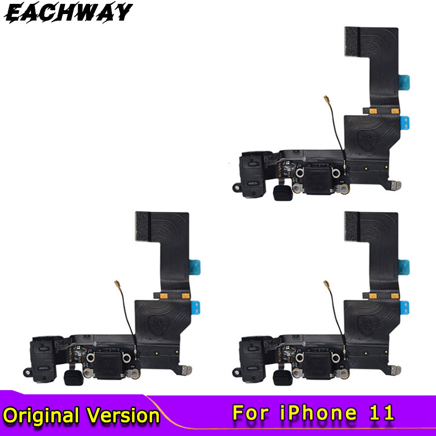 iPhone 4S 5 5S SE 6 6S 7 8 Plus High Quality Charging Flex Cable For USB Charger Port