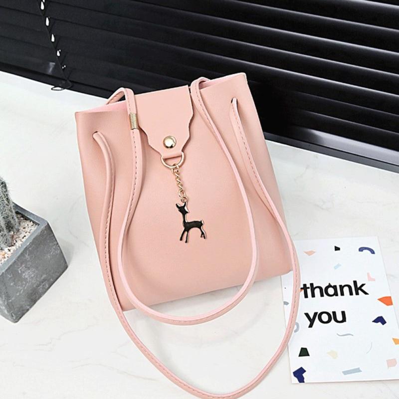 2020 New Fashion 1.5Women Bags Purse Shoulder Handbag Tote Messenger Hobo Satchel Bag Cross Body Solid Pattern