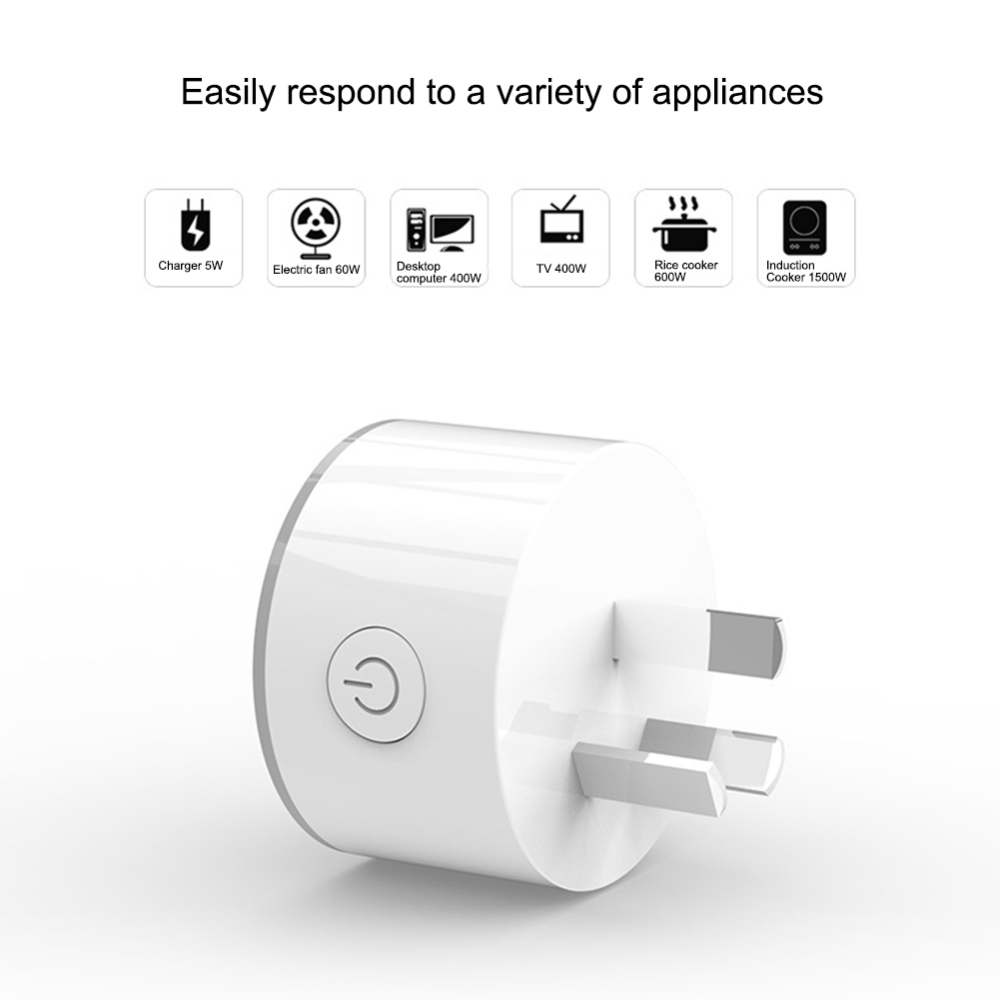 cheapest WiFi Smart Plug Socket with power Monitor Remote Control Timer Outlet Power Plug for Android IOS Phone App  AU EU US JP UK Plug