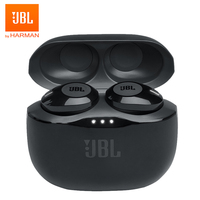 JBL T120TWS True Wireless Bluetooth Earphones TUNE 120 TWS Stereo Earbuds Bass Sound Headphones Headset with Mic Charging Case