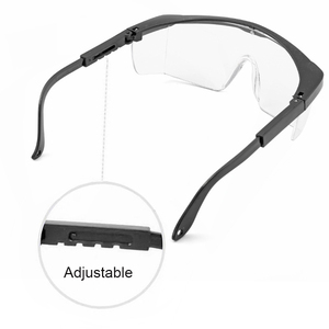 Image 4 - Protective Safety Glasses Work Anti Dust Anti Fog Windproof Anti Dust Saliva Transparent Goggles Eye Protection