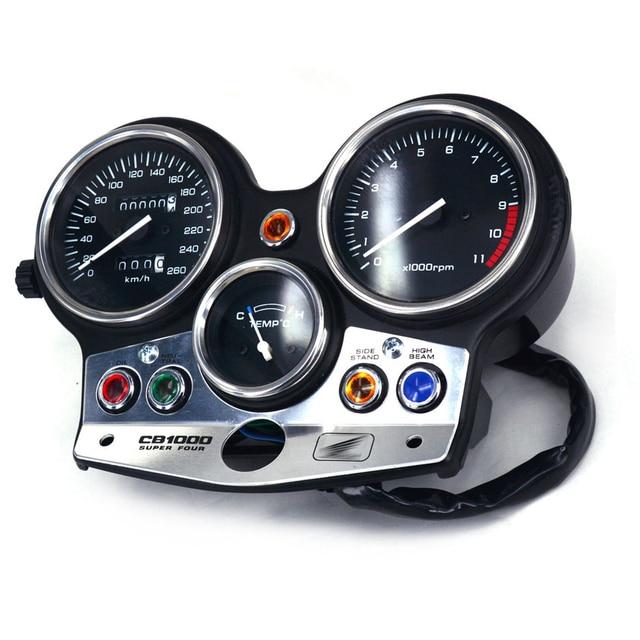 毎時 260 キロオートバイゲージクラスタスピードメータータコメーターオドメーターホンダCB1000 cb 1000 94 95 96 97 98