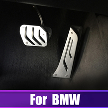Car Accelerator Brake Pedal Footrest Pedals Cover For BMW 1 2 3 4 5 6 7 series GT X5 X6 F10 F20 F15 F16 F30 F31 F34 E70 E71 E72 car styling refit accelerator oil footrest pedal plate clutch throttle brake treadle for bmw 5 5gt 6 7 series x3 x4 x5 x6 z4 lhd