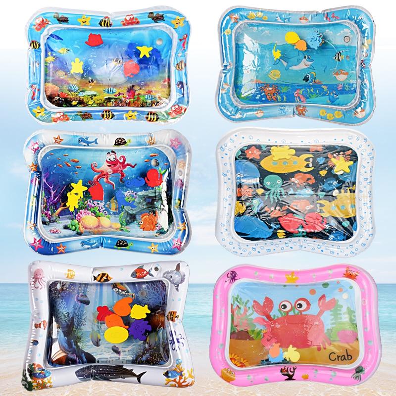 Kreative Baby-Wassermatte aufblasbare tätschelte Kissen Kissen - Baby und Kleinkind Spielzeug - Foto 1