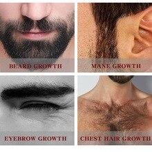 Мужской бальзам для роста бороды и усов увлажняющий крем для ухода за волосами JS11