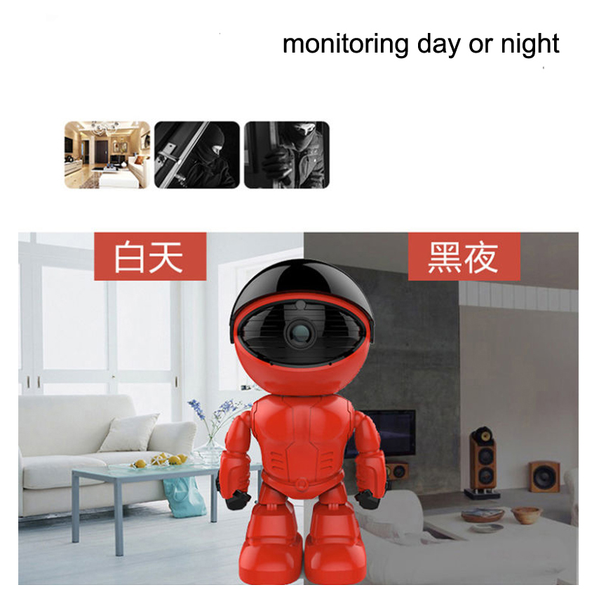 Hot DealsøRobot WIFI for Android Ios CCTV Secuirty Camera 130mp-Lens Baby-Monitor SurveillanceÑ