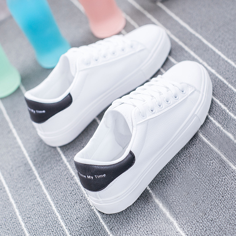 2020 New Arrival White Sneakers Women Flats Canvas Shoes Women Vulcanize Shoes Casual Zapatillas Mujer European Size 36-42