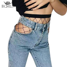 Las mujeres dama medias de malla sexys Fishnet medias de Nylon Media larga Jacquard pie costura pantimedias medias Calcetines Lencería