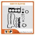 Комплект прокладок для ремонта двигателя для FITToyota 2SZFE 2SZ SJ110 SCP4 # 1.3L 16V L4 04111-0J110 2002-2009