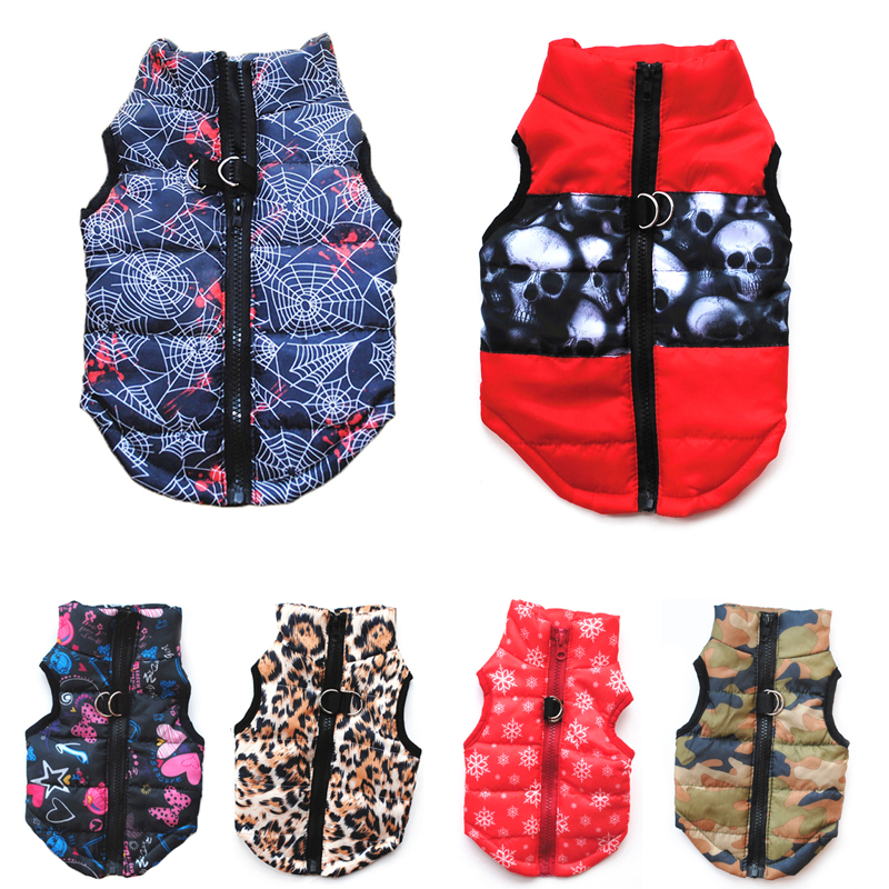 14 Colors Winter Pet Dog Clothes Windproof Dog Vest Down Jacket Puppy Small Dogs Clothes Warm Chihuahua Apparel Pet Supplies 15