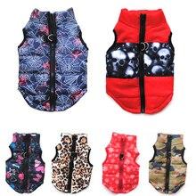14 renk kış Pet köpek giysileri rüzgar geçirmez köpek ceket aşağı yelek köpek küçük köpekler giysileri sıcak Chihuahua giyim Pet malzemeleri 15