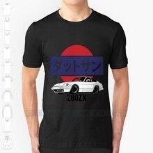 Datsun 280zx impressão do logotipo design personalizado impressão para mulheres masculinas algodão novo legal t camisa tamanho grande 6xl datsun 280 280z