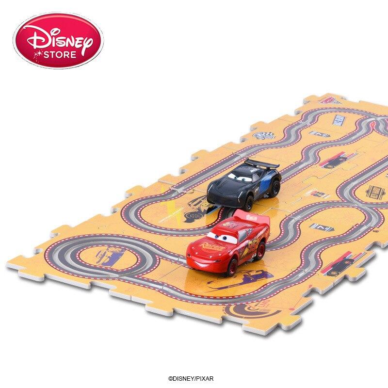 Disney Pixar voiture 3 foudre McQueen Jackson Cruz Mini voiture télécommandée voiture modèle de véhicule électronique jouets cadeau pour les filles