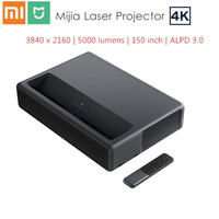 Xiaomi Mijia 4K Laser Projector 3840 x 2160 150 inch 5000 lumens TV Home Theater 2GB RAM 16GB ROM ALPD 3.0 Android 6.0 3D