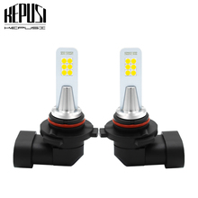 цена на 2x 9006 HB4 Led Fog Lamp Bulb Auto Car Motor Truck 12w 3030 12smd 9006 led bulb Driving Running Light DRL 12V 24V White