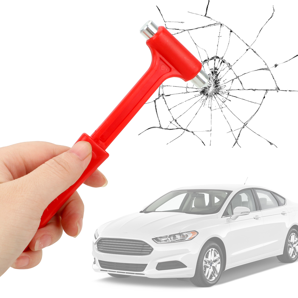 LEEPEE Seat Belt Cutter Emergency Hammer Car Safety Escape Glass Window Breaker Life-Saving Mini Car Safety Hammer image
