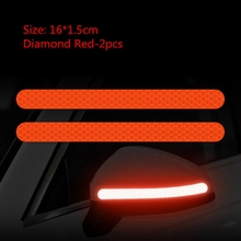 Sticker Reflector Strip Light-Bar Car-Decoration Anti-Collision Tail-Warning Exterior